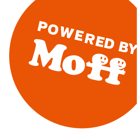 powered by moff
